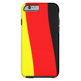 German flag image for iPhone 6 plus Vibe Tough iPhone 6 Case