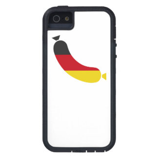 German flag in a wurst or hot dog iPhone 5 cover
