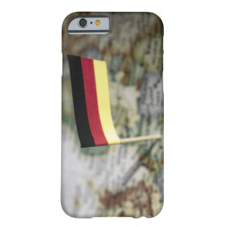 German flag in map barely there iPhone 6 case