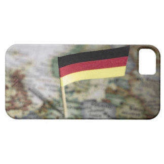German flag in map case for the iPhone 5