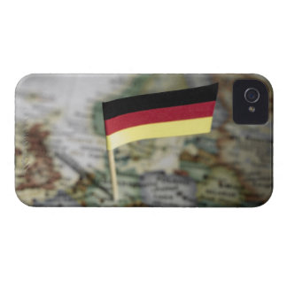 German flag in map iPhone 4 cover