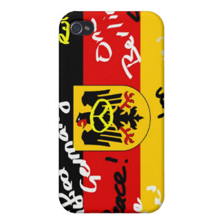 German Flag iPhone 4/4S Cover