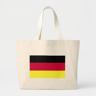 German Flag Large Tote Bag