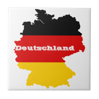 German Flag Map Tile