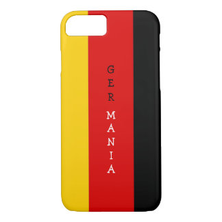 German Flag modern iPhone 7 case