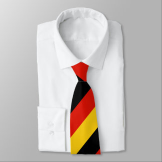 German flag of Germany custom Tie