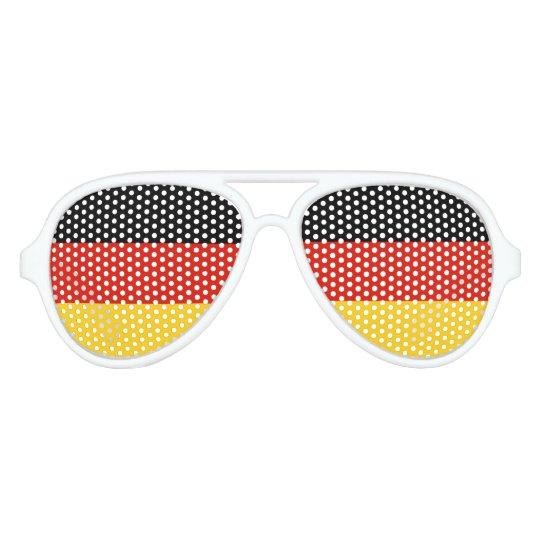German flag party shades | Germany pride
