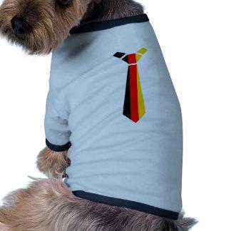 German flag pet t shirt