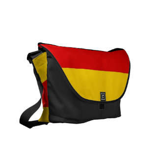 German Flag Rickshaw Messenger Bag