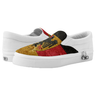 German Flag Slip-On Shoes