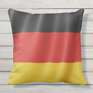 German Flag throw pillows