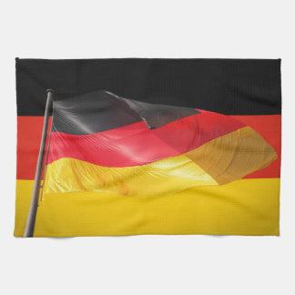German flag towels