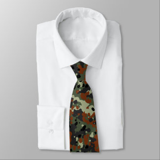 German Flecktarn Camo Tie