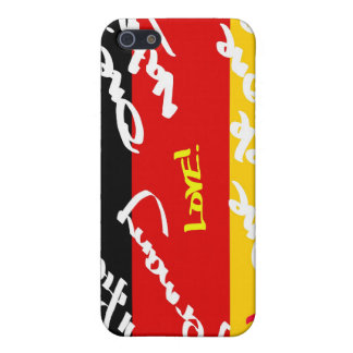 German Flga covered in Graffiti iPhone 5/5S Case