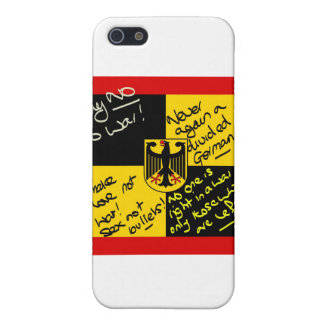 German Flga covered in Graffiti iPhone 5/5S Cases