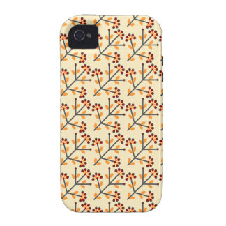German Flower Pattern Case For The iPhone 4