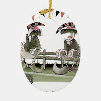 german football pundits christmas ornament