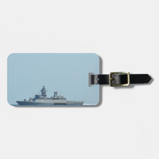 German frigate Braunschweig at sea. Luggage Tag