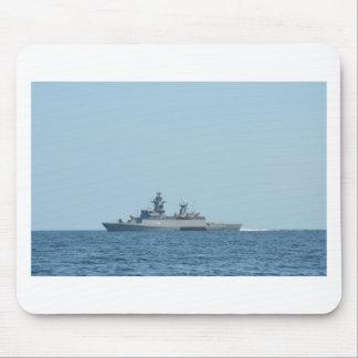 German frigate Braunschweig at sea. Mouse Mat