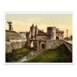 German Gate, Metz, Alsace Lorraine, Germany vintag