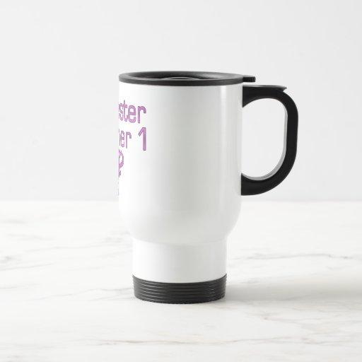German Gifts for Sisters: Schwester Nummer 1 Stainless Steel Travel Mug