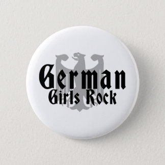 German Girls Rock 6 Cm Round Badge