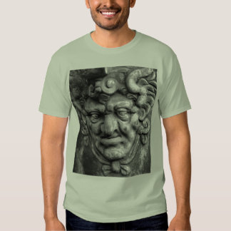 German Gothic face carving Tee Shirt