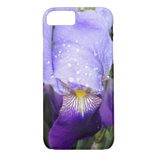 German Iris With Some Raindrops iPhone 8/7 Case