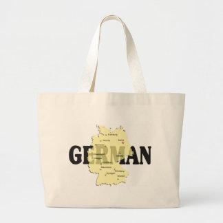 German Jumbo Tote Bag
