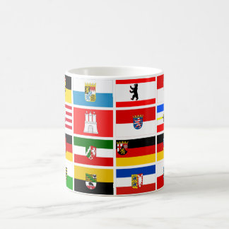 German Laender State Flags Coffee Mug