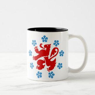 German-language community of Belgium Two-Tone Coffee Mug
