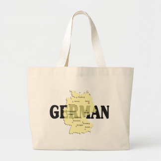German Large Tote Bag