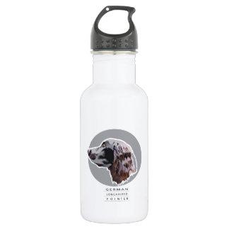 German Long haired pointer 532 Ml Water Bottle