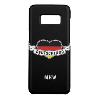 German Love custom monogram phone cases