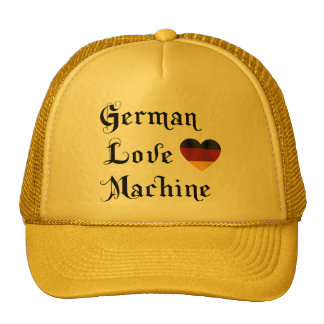 German Love Machine Trucker Hats