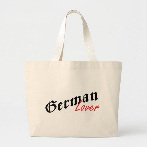 German Lover Canvas Bags