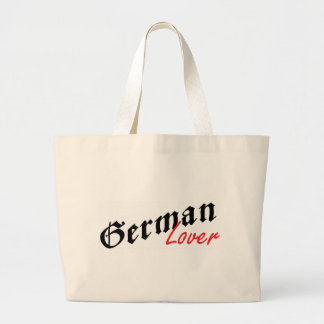 German Lover Large Tote Bag