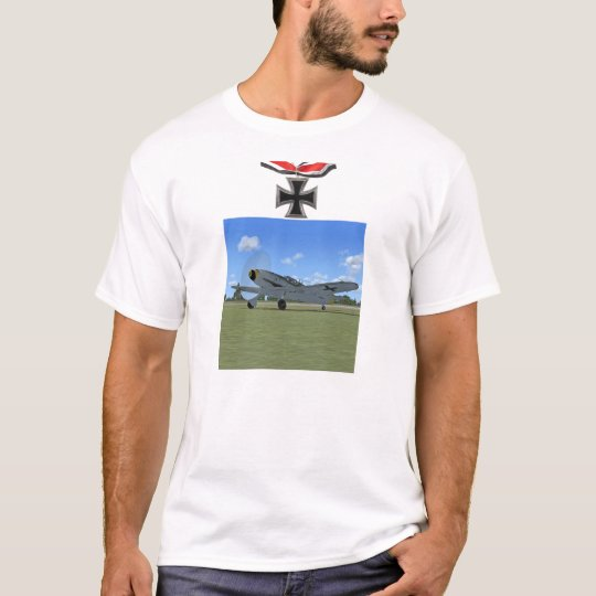 German ME109 Fighter Plane T-shirt