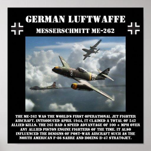 German Messerschmitt ME-262 Jet - World War II