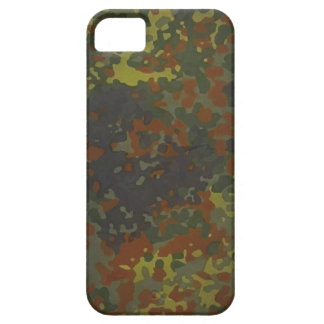 German military Fleck camouflage iPhone 5 Cases
