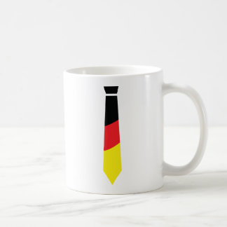 german necktie icon mug