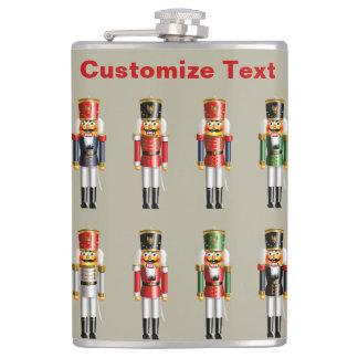 German Nutcrackers Hip Flask