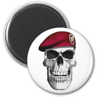 German Paratroopers 6 Cm Round Magnet