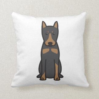 German Pinscher Dog Cartoon Cushion