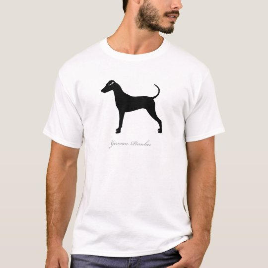 German Pinscher silhouette T-Shirt