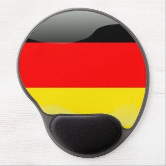 German polished flag gel mouse mat