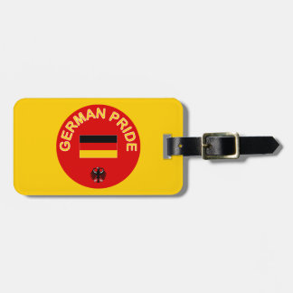 German Pride Luggage Tag