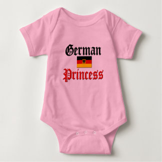 German Princess Baby Bodysuit