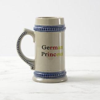 German Princess Beer Steins
