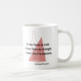 German Proverb -retro Coffee Mug
